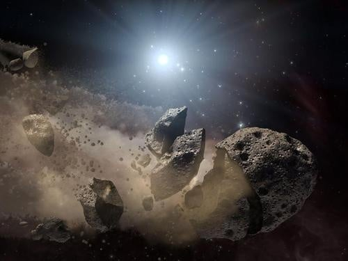 Russia May Knock an Approaching Asteroid Away from Earth