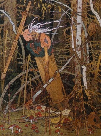 Meet Baba Yaga, The Witchiest Witch Of Them All