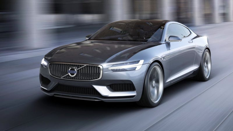 The Stunning Volvo Concept Coupé Is The New Swedish Sexy