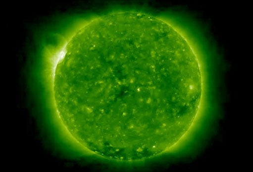 """Is This Shockwave Our Only Warning Of A """"Solar Katrina""""?"""