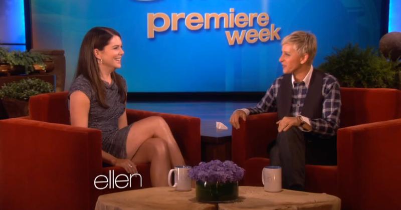 Lorelai From Gilmore Girls and Ellen From Ellen Make A Show