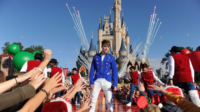 Justin Bieber Is King Of The Castle