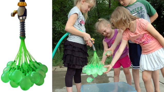 This Simple Contraption Lets You Make 100 Water Balloons Every Minute