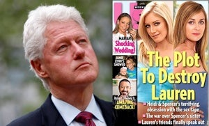 Us Weekly Contributor Bill Clinton Ordered To Cut Gross Policy Stuff