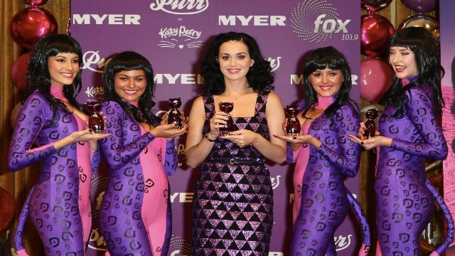 Katy Perry Poses With The Katy Perrys Of The World