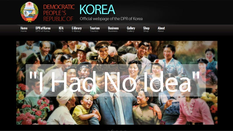 Meet the American Who Designed North Korea's Atrocious Website