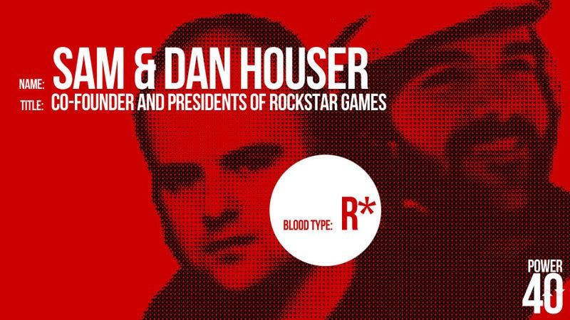 ↓ 19. Sam and Dan Houser, The Brothers Rockstar
