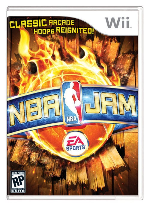 Flaming Basketball Gets the Cover of NBA Jam