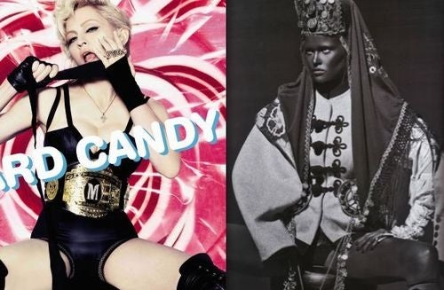 "Madonna: ""I Did A Photo Shoot With Steven Klein, And I Painted My Face Black"""
