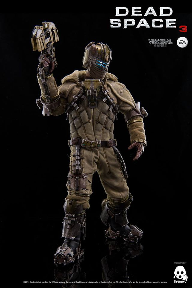 Deluxe, Light-Up Dead Space 3 Isaac Clarke Figure