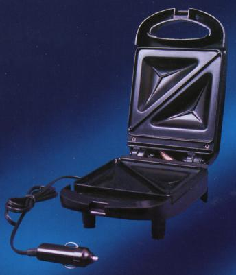12 Volt Car-Ready Sandwich Griddle, Because Where Else Should You Make a Grilled Sandiwch?