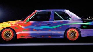 [One of my favorite art cars is this Group A E30, painted by Australian Ken Done. Photo: BMW]