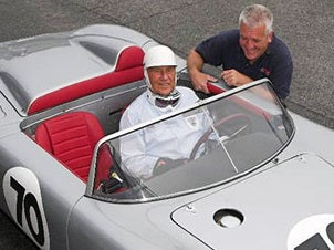 Sir Stirling Moss just quit racing