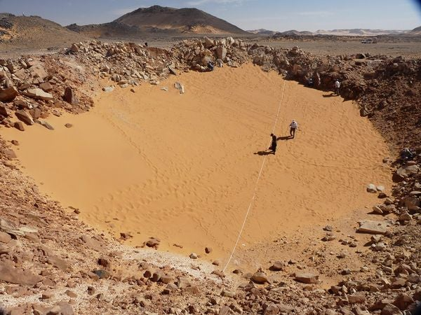 World's Best Preserved Crater Found Using Google Earth