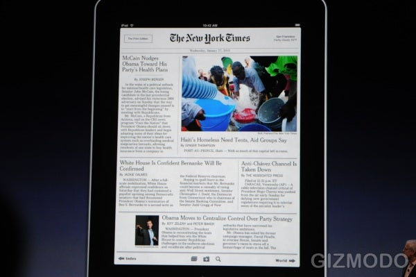 Apple iPad: Books, Magazines, Movies and Music