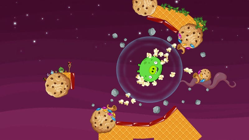 Angry Birds Space Scores a New Boss, a New Bird, and a Little Tetris Flavor