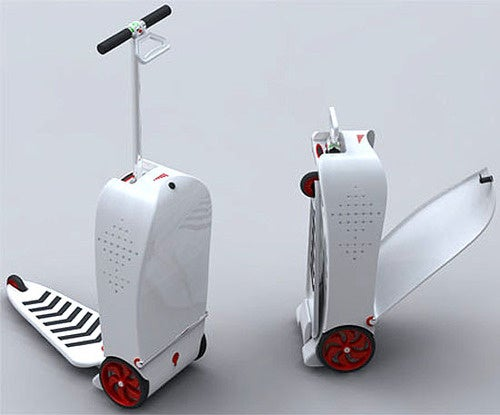 Nexus Scooter Carry-On: The Most Fun Way to Get Arrested In an Airport