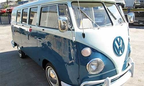 VW Bus Stolen 35 Years Ago Found In Shipping Container