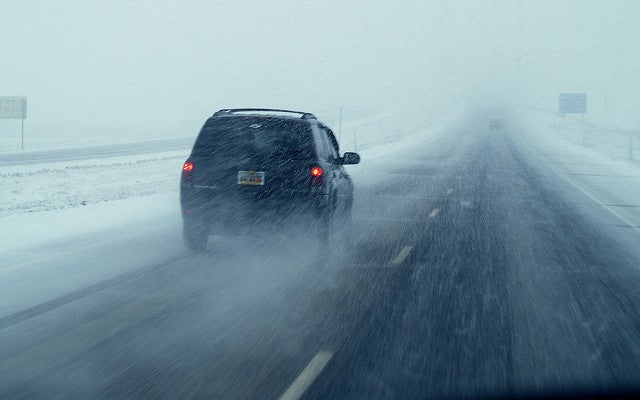 Steer Your Way Through a Slippery Snow Drive