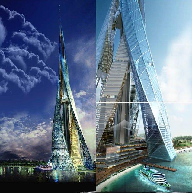 tambin conocido como la ciudad vertical de dubai es un diseo de rascacielos propuesto y anunciado el de agosto de el edificio se supone que