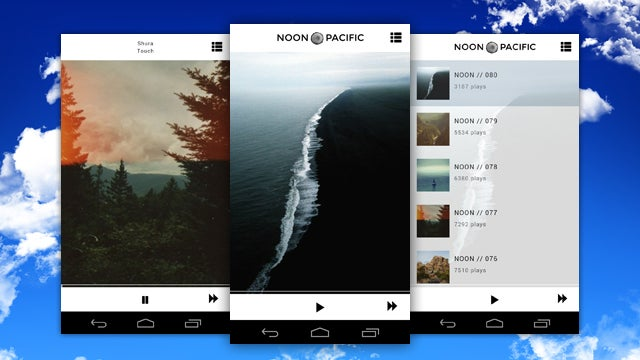 Noon Pacific for Android Puts Awesome Weekly Playlists On Your Phone