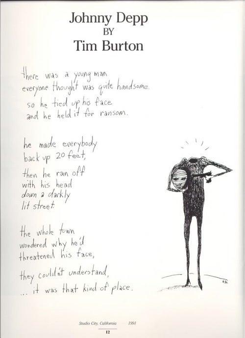 Tim Burton's Ode To Johnny Depp