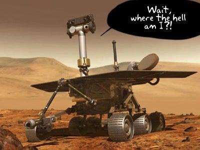 NASA Mars Spirit Rover Has Recurring Case of Amnesia