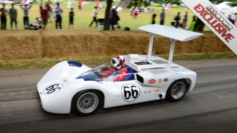 Inside the race cars of future past