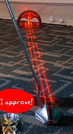 Argon Laser Putter Delivers Birdies With Predator-Like Efficiency