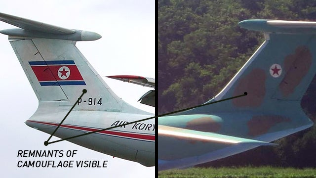 North Korea Used Camo Paint to Pass Off Civilian Planes as Military
