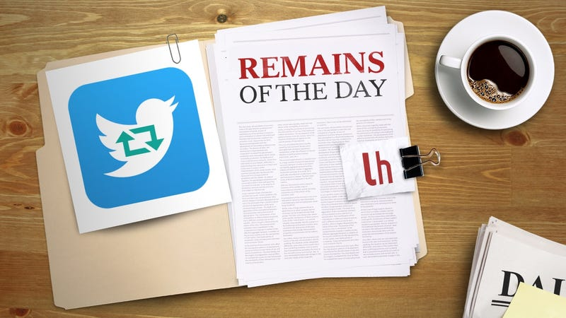 Remains of the Day: You Can Now Retweet Yourself