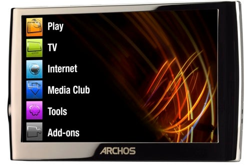 Archos Gen-6 5G PMP is 3G Web Surfing, HD Video, Touchscreen Beauty