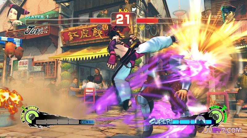 Are These Super Street Fighter IV Screens?
