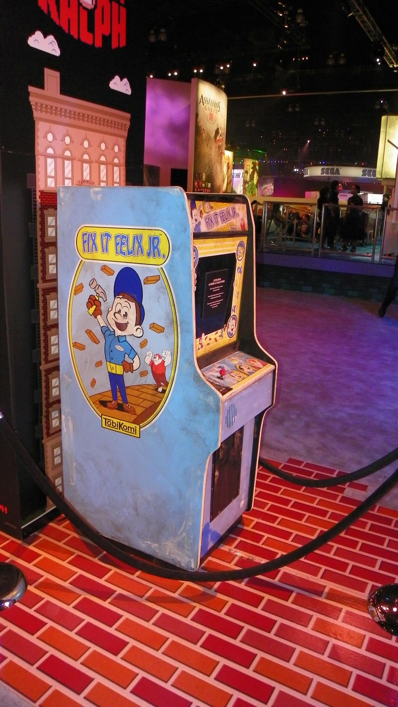 Here's the Fake Arcade Classic Disney's New Video Game Movie Comes From
