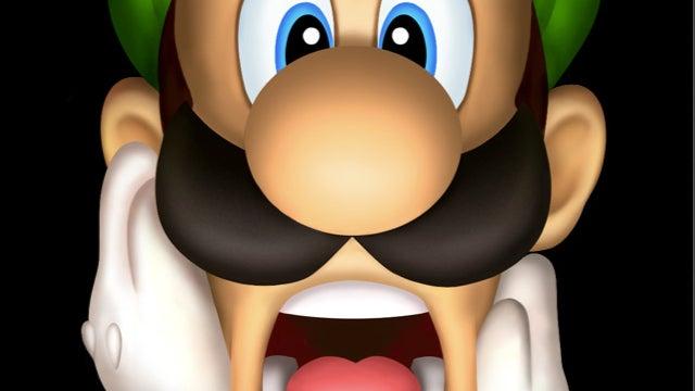Luigi Has a Bra on His Face