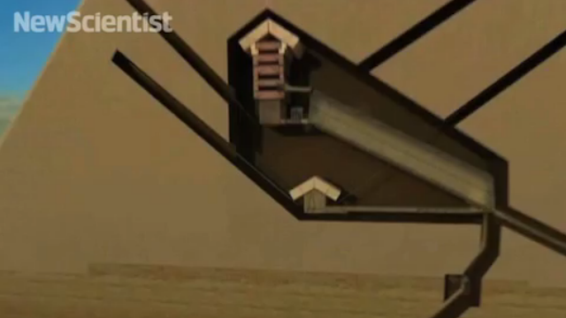 Video Shows Where The Great Pyramid's Hidden Chamber of Secrets Is Located