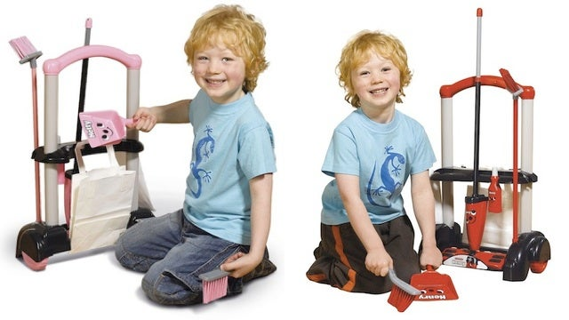 These Adorable Little Boys Will Solve The Cleaning Gender Gap