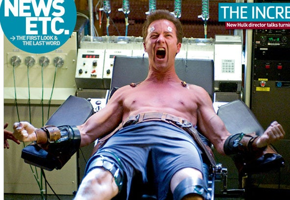 First Picture of Ed Norton Hulking Out