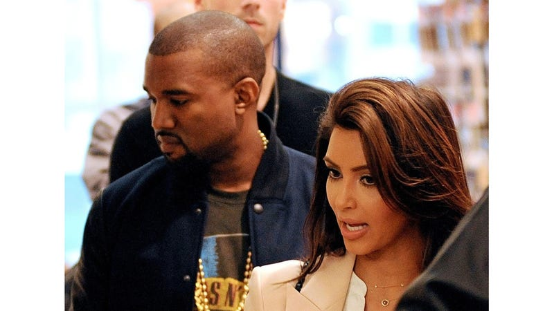 Kim and Kanye Were 'Intimate' at a Sexy Naked Theater Thing