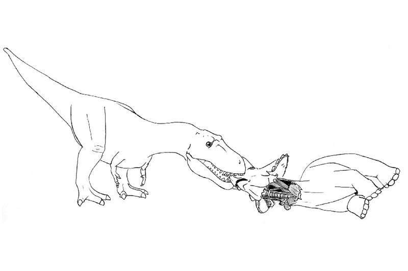 How to eat a Triceratops in four easy steps