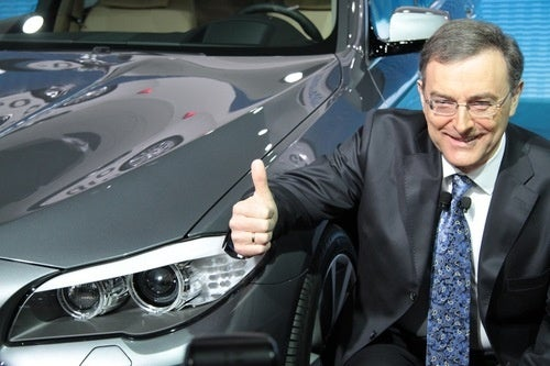 BMW CEO Norbert Reithofer Has Two Thumbs, Is Not Afraid To Use One Of Them