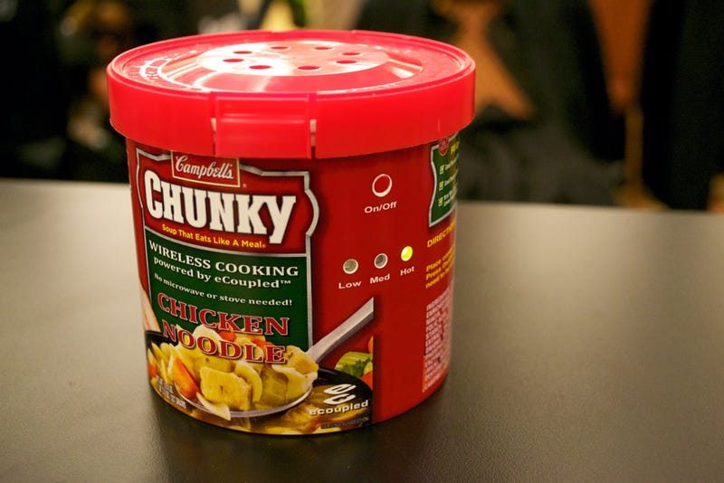 This Soup Is Cooking...In Its Packaging