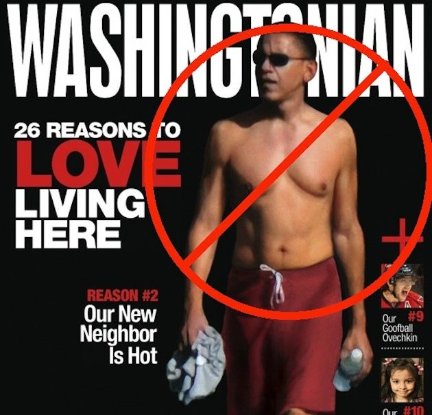 White House Conspiracy Against Shirtless Obama Pics