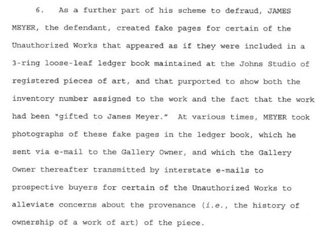 Jasper Johns' Longtime Assistant Accused of Stealing $6 Million in Art