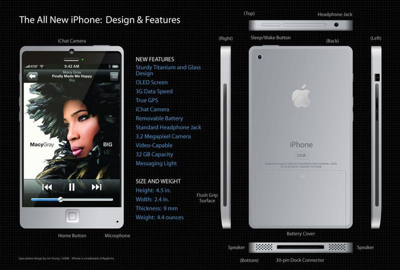 iPhone 4G Concept Is a MacBook In a Phone