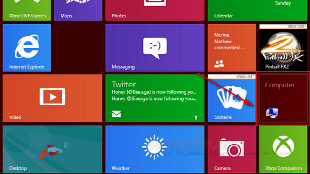 "Add ""My Computer"" to the Windows 8 Start Screen"