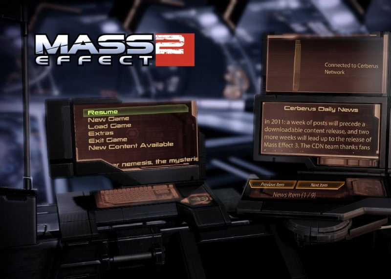 Mass Effect 2's Cerberus Network Taking Hiatus; More DLC Confirmed