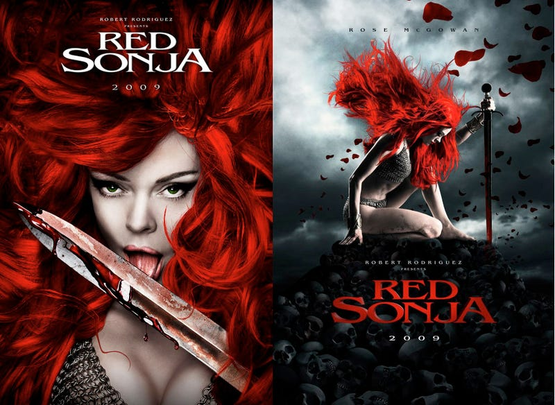 Concept Art for Robert Rodriguez's Scrapped Red Sonja Movie