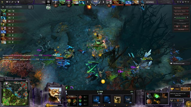 Why The Dota 2 International Finals Were A Blowout
