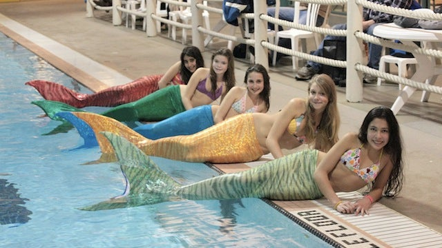 Live out your mermaid dreams with these swimmable tails